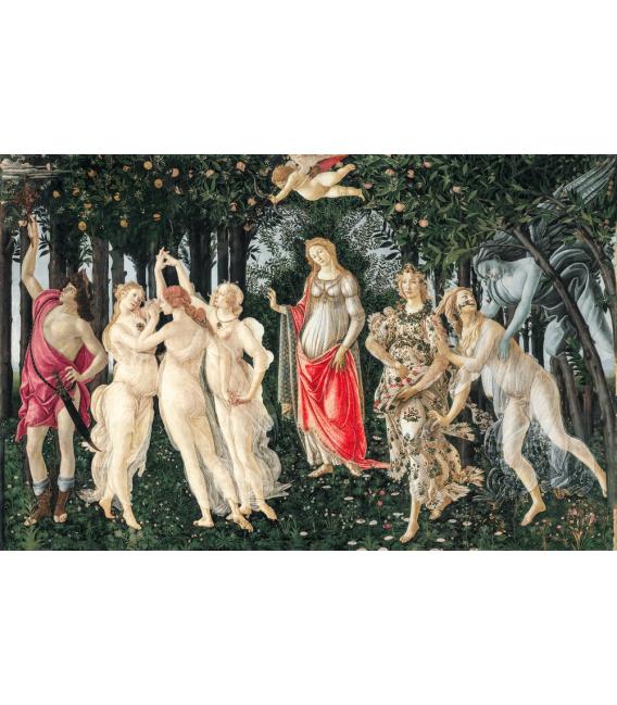 Stampa su tela: Sandro Botticelli - Primavera