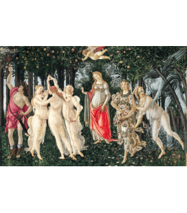 Printing on canvas: Sandro Botticelli - Spring