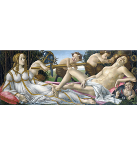 Sandro Botticelli - Venus and Mars. Printing on canvas