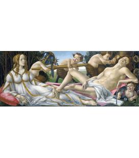 Sandro Botticelli - Venere e Marte. Stampa su tela