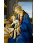 Sandro Botticelli - Vergine e Bambini. Stampa su tela