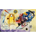 Printing on canvas: Vassily Kandinsky - Yellow-Red-Blue
