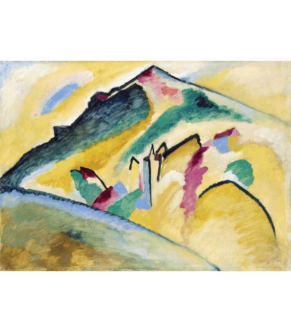 Printing on canvas: Vassily Kandinsky - Herbstlandschaft