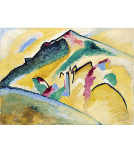 Vassily Kandinsky - Herbstlandschaft. Printing on canvas
