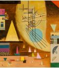 Vassily Kandinsky - The Silence Silent. Printing on canvas