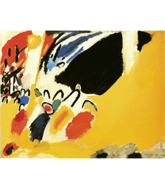 Stampa su tela: Vassily Kandinsky - Impression III (Koncert)