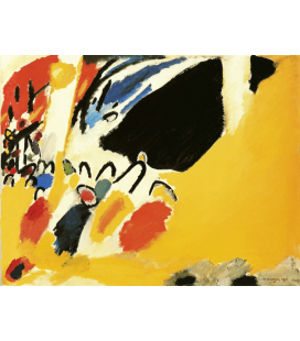 Vassily Kandinsky - Impression III (Koncert). Stampa su tela