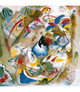 Printing on canvas: Vassily Kandinsky - Dreamy Improvisation