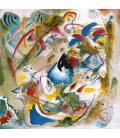 Printing on canvas: Vassily Kandinsky - Dreamy Improvisation