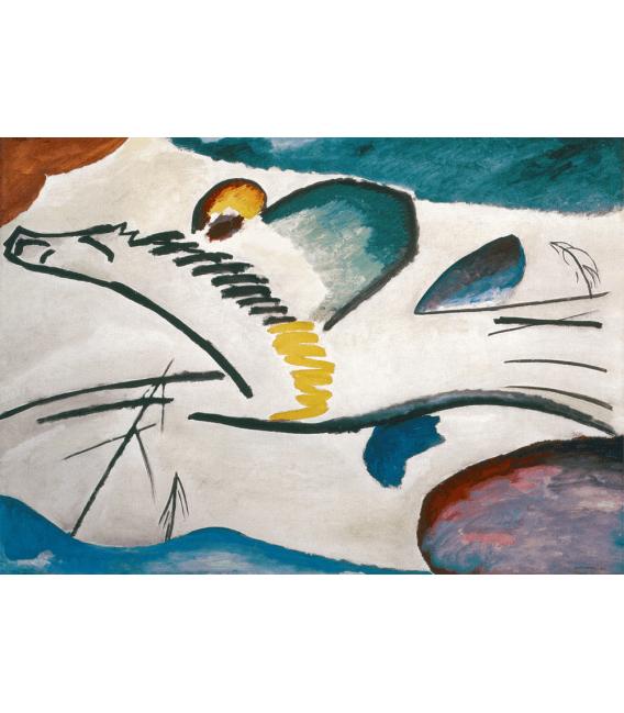 Stampa su tela: Vassily Kandinsky - Lirico