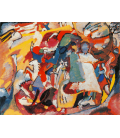 Vassily Kandinsky - All Saints' Day I. Printing on canvas