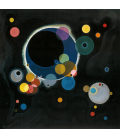 Vassily Kandinsky - Diversi Cerchi. Stampa su tela