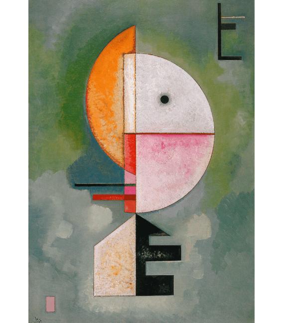 Stampa su tela: Vassily Kandinsky - Verso l'alto