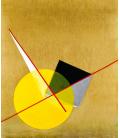 Printing on canvas: Vassily Kandinsky - Yellow Circle