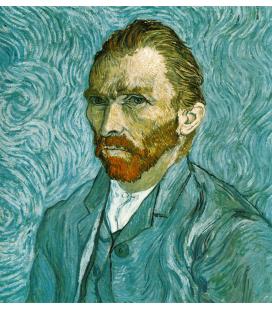 Stampa su tela: Vincent Van Gogh - Autoritratto