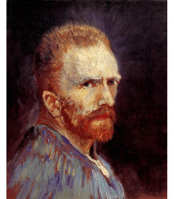 Printing on canvas: Vincent Van Gogh - Self Portrait 1887