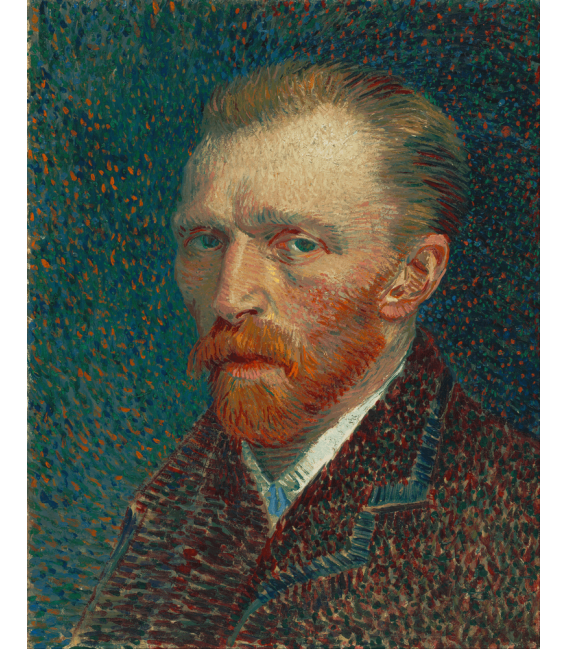 Printing on canvas: Vincent Van Gogh - Self Portrait 1887 bis