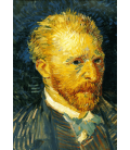 Vincent Van Gogh - Self Portrait 2. Printing on canvas