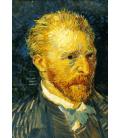Vincent Van Gogh - Autoritratto 2. Stampa su tela