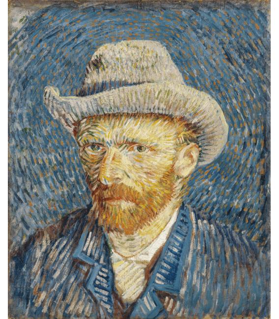 Stampa su tela: Vincent Van Gogh - Autoritratto 3