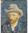 Vincent Van Gogh - Autoritratto 3. Stampa su tela