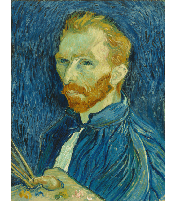 Printing on canvas: Vincent Van Gogh - Self Portrait 1889