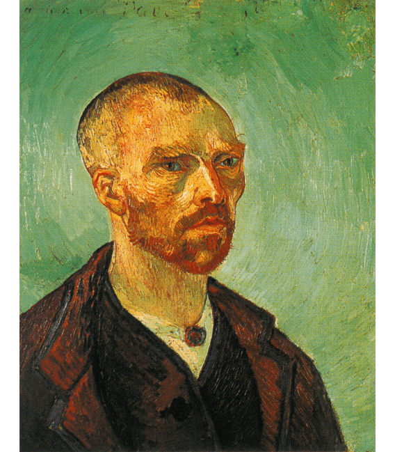 Printing on canvas: Vincent Van Gogh - Self Portrait with shaved head