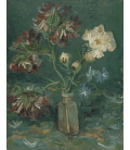 Printing on canvas: Vincent Van Gogh - Bottle with peonies