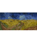 Vincent Van Gogh - Wheat Field with Crows. Printing on canvas