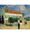 Vincent Van Gogh - White House at night. Printing on canvas