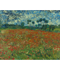 Vincent Van Gogh - Field of Poppies. Printing on canvas