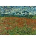 Vincent Van Gogh - Campo di papaveri. Stampa su tela
