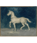 Vincent Van Gogh - Horse. Printing on canvas