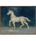 Vincent Van Gogh - Cavallo. Stampa su tela