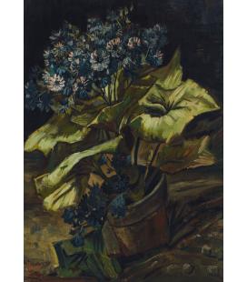 Stampa su tela: Vincent Van Gogh - Cineraria