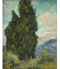 Vincent Van Gogh - Cypresses. Printing on canvas