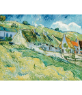 Printing on canvas: Vincent Van Gogh - Cottages