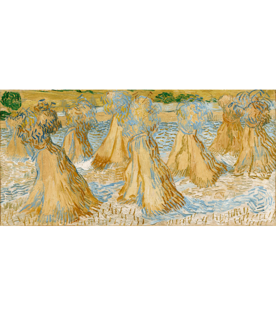 Printing on canvas: Vincent Van Gogh - Sheaves of wheat
