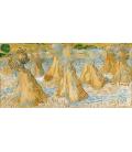 Vincent Van Gogh - Covoni di grano. Stampa su tela