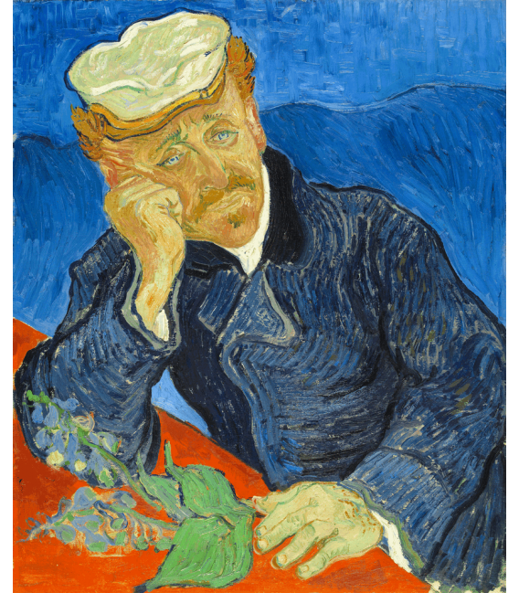 Printing on canvas: Vincent Van Gogh - Dr. Paul Gachet