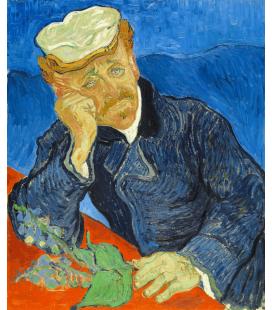 Stampa su tela: Vincent Van Gogh - Dr. Paul Gachet