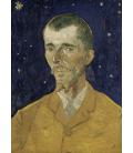 Vincent Van Gogh - Eugène Boch. Stampa su tela