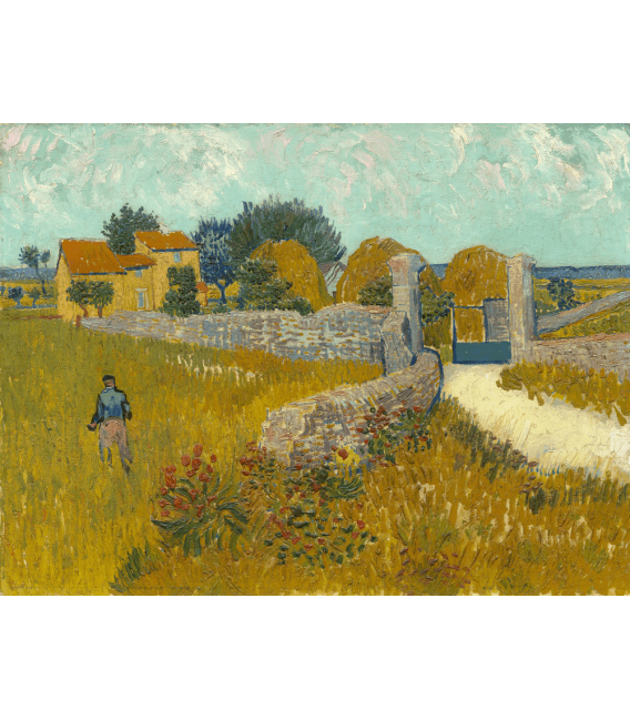 Printing on canvas: Vincent Van Gogh - Farmhouse in Provence