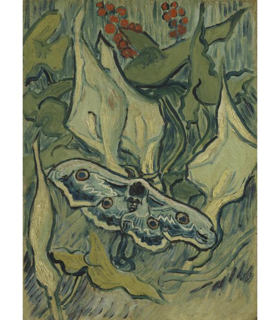 Stampa su tela: Vincent Van Gogh - Farfalle