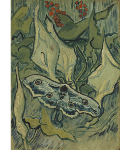 Vincent Van Gogh - Butterflies. Printing on canvas