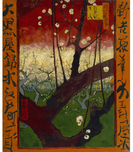 Vincent Van Gogh - Japanesery,Flowering Plum Orchard (after Hiroshige). Printing on canvas