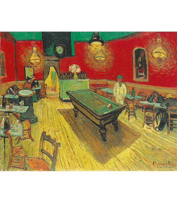 Stampa su tela: Vincent Van Gogh - Il Caffè di Notte