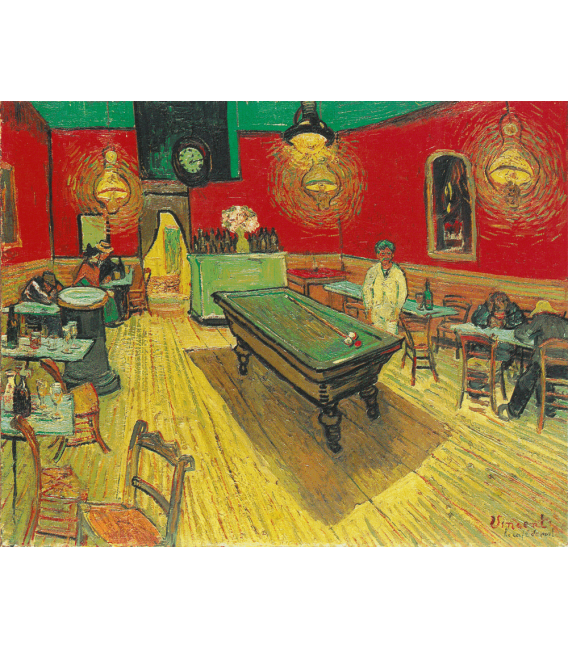 Printing on canvas: Vincent Van Gogh - The Night Cafe