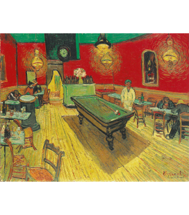 Vincent Van Gogh - The Night Cafe. Printing on canvas