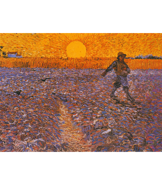 Printing on canvas: Vincent Van Gogh - The Sower